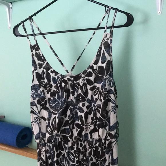 LOFT Dresses & Skirts - Floral maxi dress
